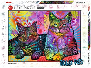 Devoted 2 Cats Puzzle 1000 Teile