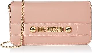 Love Moschino Borsa Small Grain Pu, Pochette da giorno Donna, 14x26x3 cm (W x H x L)
