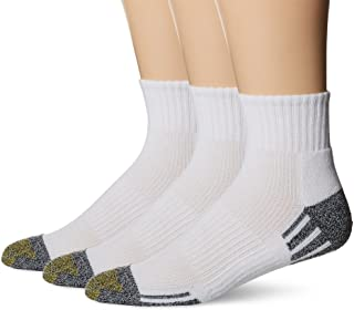 Gold Toe unisex-adult Outlast Quarter Socks, 3-pack Socks