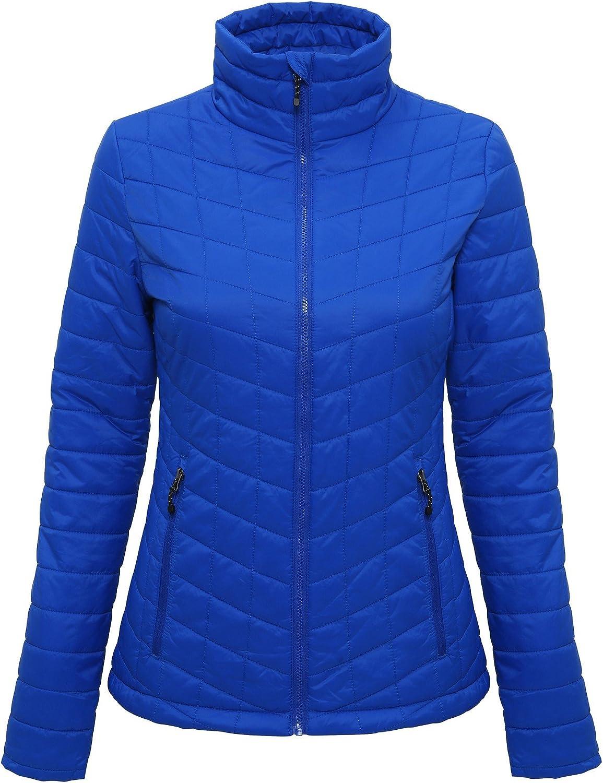 Tri Dri Womens Ladies Ultralight Thermo Quilt Jacket