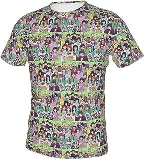 斉木楠雄のΨ難 夏服 薄手 Tシャツ メンズ 半袖 吸水速乾 軽い 3dプリント おしゃれ 人気 Tシャツ 上質 ファッション 柔らかい 快適