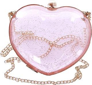 Kawaii-Story LB-251 Durchsichtig Herz Kunststoff mini Tasche Lolita Pastel Goth Harajuku