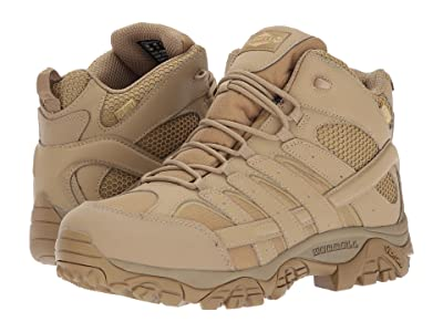 Merrell Work Moab 2 Mid Tactical Waterproof (Coyote) Men