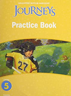 Journeys: Practice Book Consumable Grade 5