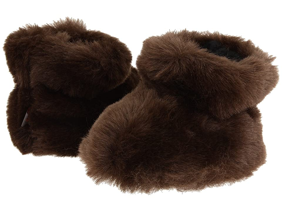 Acorn Kids Tex Easy Bootie (Infant/Toddler) (Brown Bear) Girls Shoes