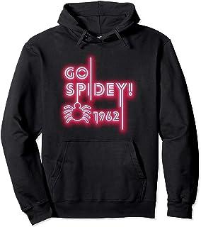 Marvel Spider-Man Go Spidey 1962 Neon Logo Sweat à Capuche