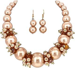 Comelyjewel Fashion Jewelry Lady Simulated Pearl Beaded...