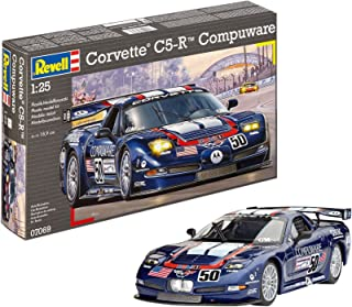 Revell- Maqueta Corvette C5-R Compuware, Kit Modelo, Escala 1:25 (07069)