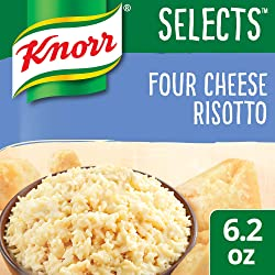 Knorr Selects Rice Side Dish, Four Cheese Risotto, 6.2 oz