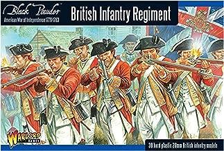 Black Powder Revolutionary British Infantry Regiment 1:56 Military Wargaming Plastic Model Kit