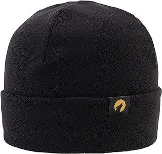 Lupa Kids & Junior Canadian Handmade Unisex Heavyweight Fleece Hat (Black)