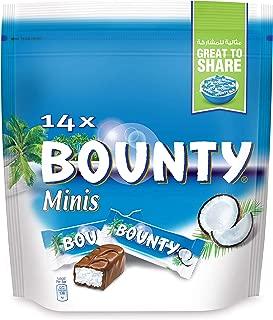 Bounty Minis Chocolate (14 Pieces), 399g