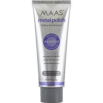 MAAS 91401 Metal Polish 4 Ounce, Pack of 1