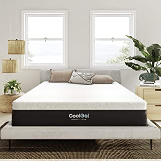 Sponsored Ad - Classic Brands Cool Gel Bed Mattress Conventional, Full, White