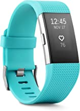Fitbit Charge 2 Band- Teal Silver, Small