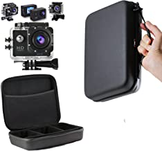 Navitech Charcoal Grey Heavy Duty Rugged Slim Line Action Cam Case/Cover Compatible with The Kitvision Escape HD5