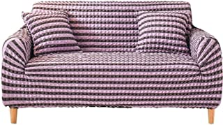 Stretch Sofa Slipcover, Couch Sofa Cover Water Resistance Non Slip, Spandex Fabric Elastic Bottom Furniture Protector For ...