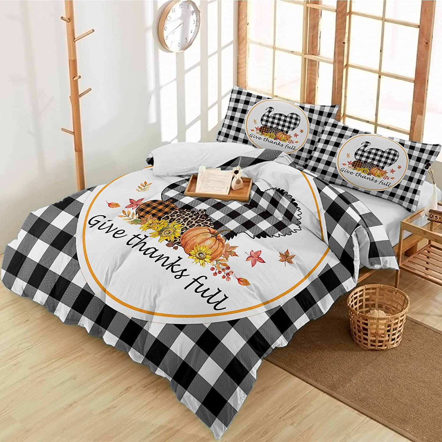 OneHoney Twin 3 Pieces Duvet Buf Cover New color Sets Bedding Max 89% OFF Thanksgiving