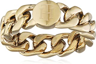 TOMMY HILFIGER WOMEN'S IONIC GOLD PLATED STEEL RINGS -2700967B