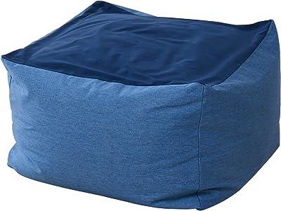 ワンズコンセプト(One's Concept) ビーズクッション ブルー サイズ:60×60×40cm