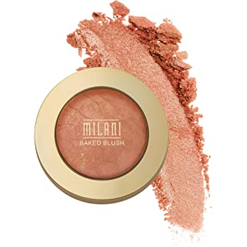 Milani Baked Blush - Bellissimo Bronze (0.12 Ounce) Cruelty-Free Powder Blush - Shape, Contour & Highlight Face for a Shimmery or Matte Finish