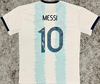 Signed Lionel Messi Jersey - NEW Leo Beckett BAS COA - Beckett Authentication - Autographed Soccer Jerseys