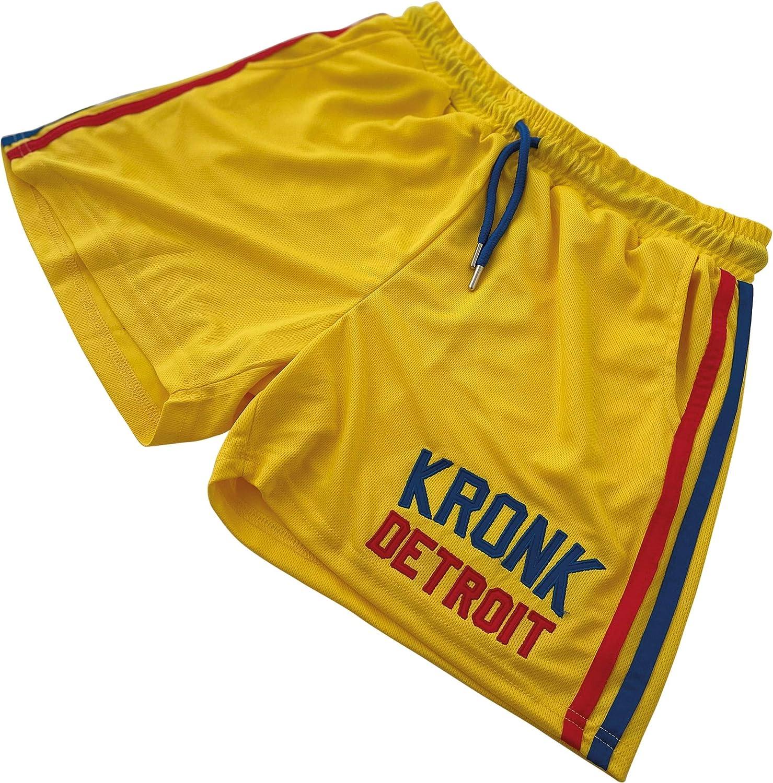 Kronk Short doubl/é embl/ématique Detroit