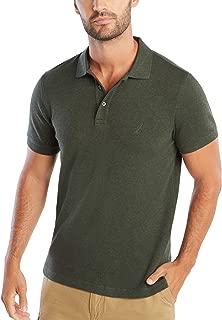 Men's Slim Fit Short Sleeve Solid Soft Cotton Polo Shirt