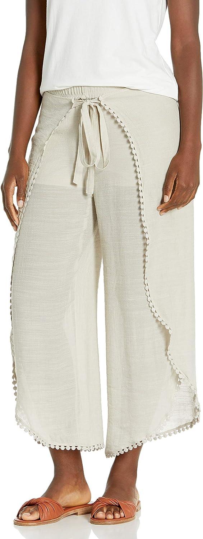 A. Byer Women's Tie-Front Wrap Pants