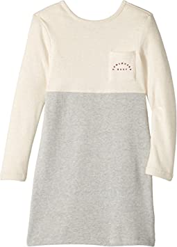 Roxy Kids - Lazy Monday Long Sleeve Dress (Big Kids)