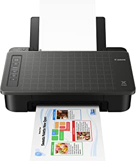 Canon TS302 Wireless Inkjet Printer, Black, Works with Alexa