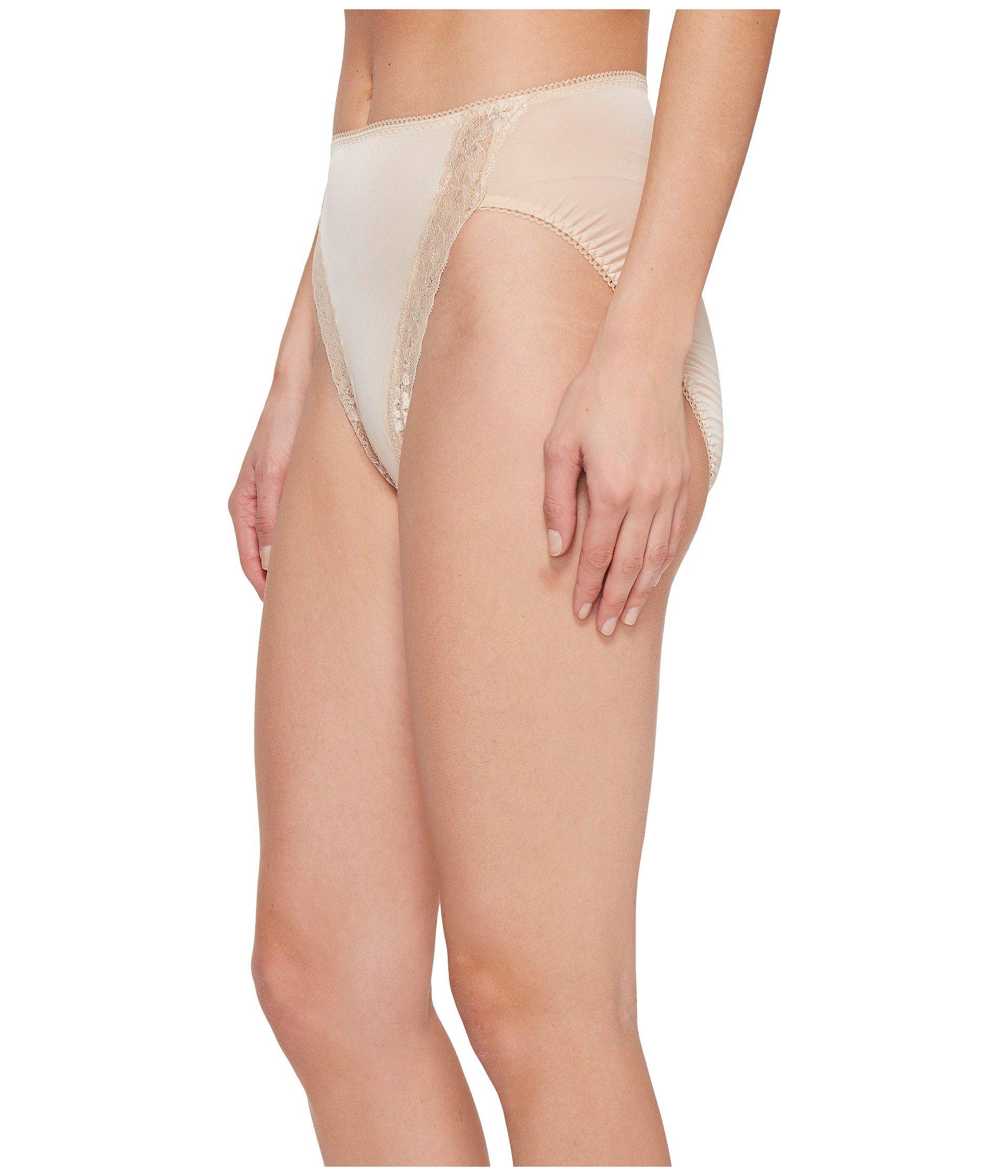 Naturally Bodysuede Brief cut Wacoal Lace Nude Hi C6qwC4x1