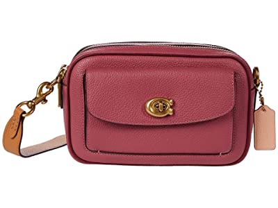 COACH Color-Block Leather Willow Camera Bag