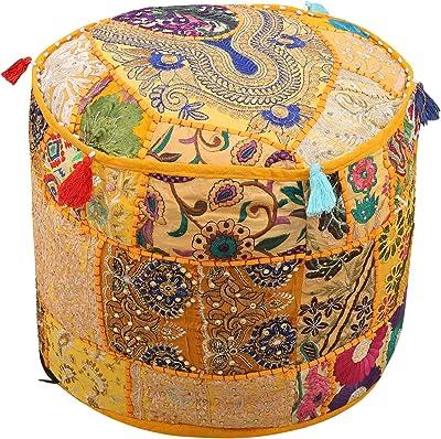 Fabulous Amazon Com Maniona 18 Round Ethnic Cotton Patchwork Frankydiablos Diy Chair Ideas Frankydiabloscom