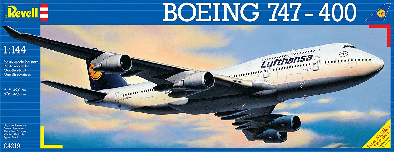 Revell 1 144 Scale Boeing 747400 Lufthansa Plastic Kit