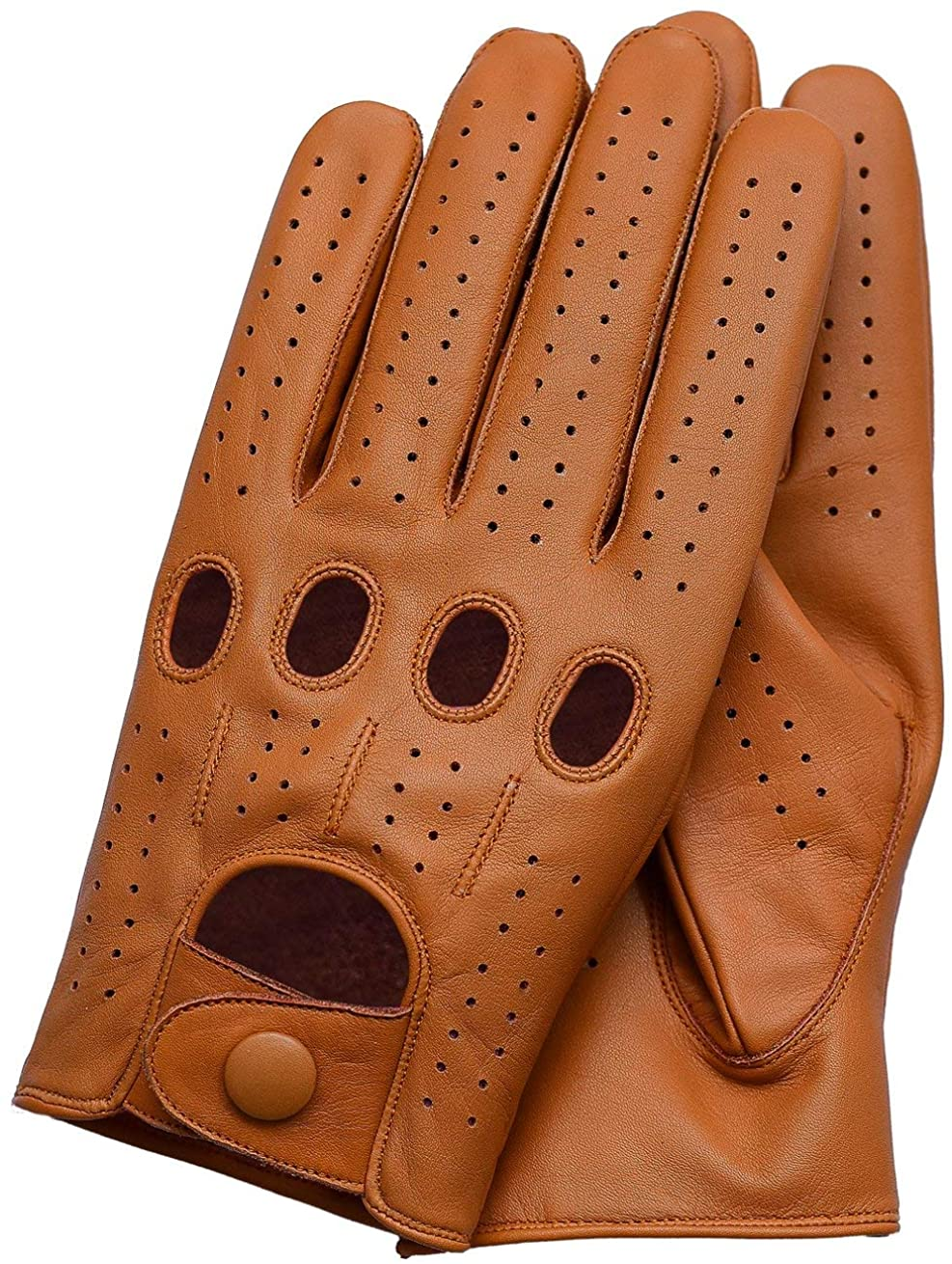 Riparo Women's Unlined Leather Driving and Riding Gloves