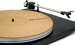 "CoRkErY Recessed Turntable Platter Mat – Audiophile Anti-Static Slipmat – 1/8"" Recessed"