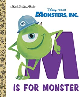 M Is for Monster (Disney/Pixar Monsters, Inc.) (Little Golden Book)