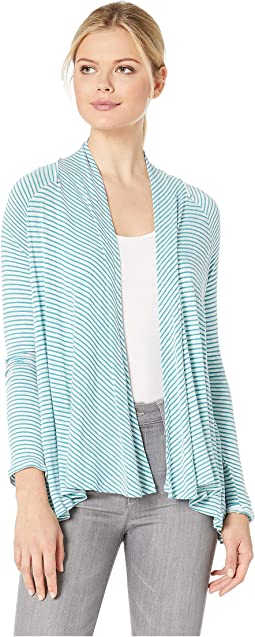 Teal/Ivory Stripe