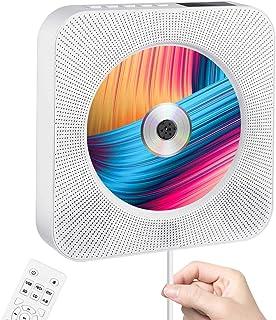 CD Player Portable wowatt CD Music Player Home Wall Mountable CD Player Bluetooth Home Audio Boombox HDMI Built-in HiFi Sp...