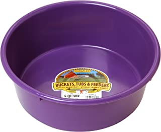 Little Giant P5PURPLE Dura-Flex Plastic Utility Pan, 5-Quart, Purple