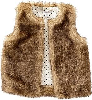 Mud Pie Womens Faux Fur Vest (Infant/Toddler)