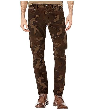 J.Crew 484 Slim-Fit Pant in Camouflage Corduroy (Dark Brown) Men