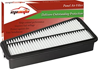 EPAuto GP683 (17801-0P010 / CA9683) Replacement for Toyota Extra Guard Rigid Panel V6 Engine Air Filter for 4Runner (2003-2009), FJ Cruiser (2007-2009), Tacoma (2005-2015), Tundra (2005-2011)