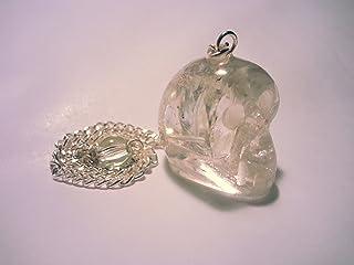 rose quartz JSDDE Feng Shui Arbre /à quartz naturel transparent avec base en pierre pr/écieuse