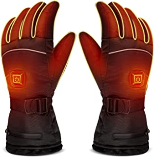 LUWATT Heated Gloves, 2019 Newest Version Battery Powered Three Temperature Settings..