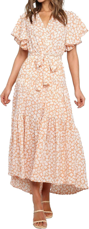 Lantina Summer Maxi Dress for Women 2021