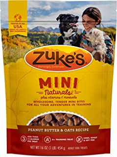 Zuke`s Naturals Training and NEW! Soft Chewy Calming Dog Treats