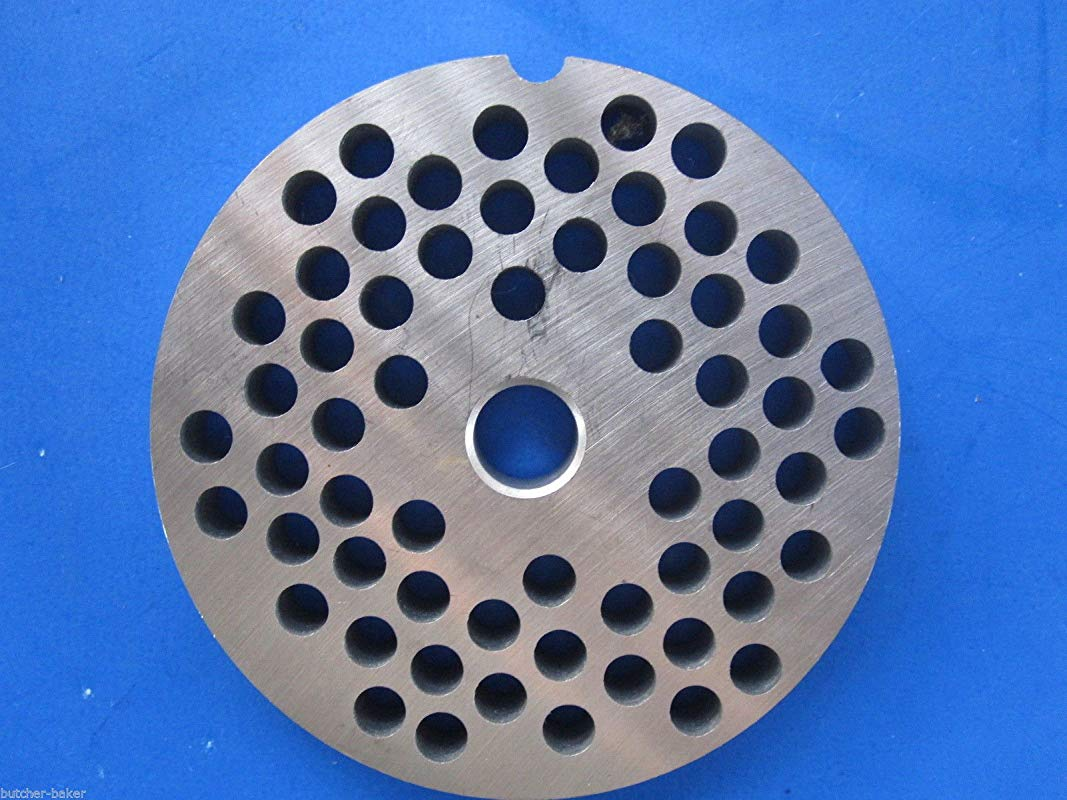 Smokehouse Chef Size 22 X 1 4 6 Mm Holes Meat Grinder Plate Disc Fits Hobart 8422 4322 4622 4822 100 Stainless Steel