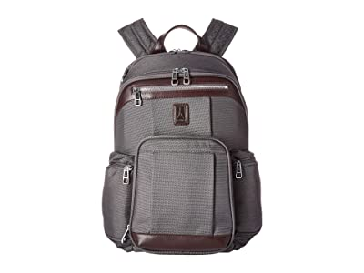 Travelpro Platinum(r) Elite Business Backpack (Vintage Grey) Backpack Bags